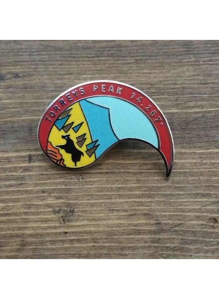 TOPP Torreys Peak Pin