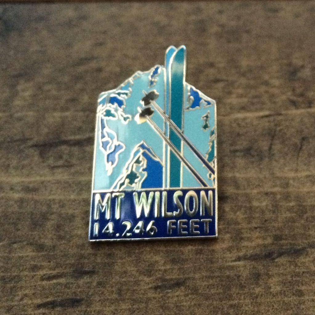 TOPP Mount Wilson Pin