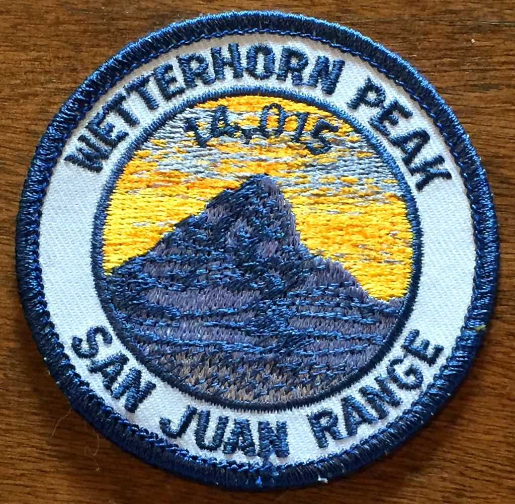 PATCH WORKS Wetterhorn Peak Patch