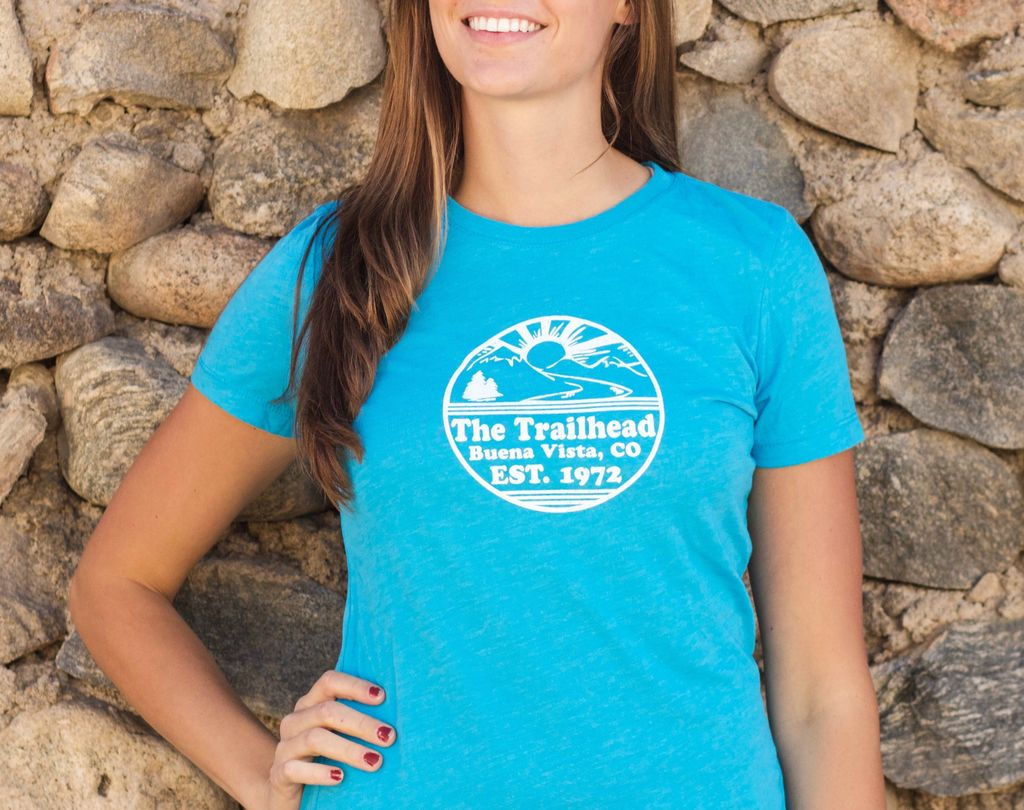 Souled Out Women's Trailhead Tee: Retro Logo