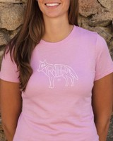 Souled Out Women's Trailhead Tee: Wolf