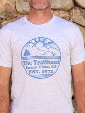 Souled Out Men's Trailhead Tee: Retro Logo