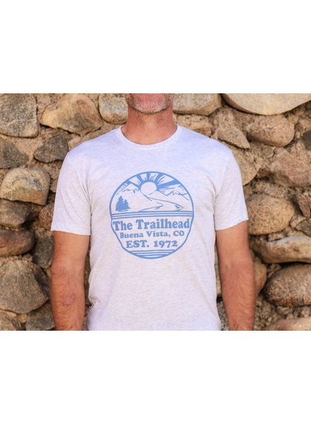 Souled Out Men's Trailhead Tee: Retro Logo