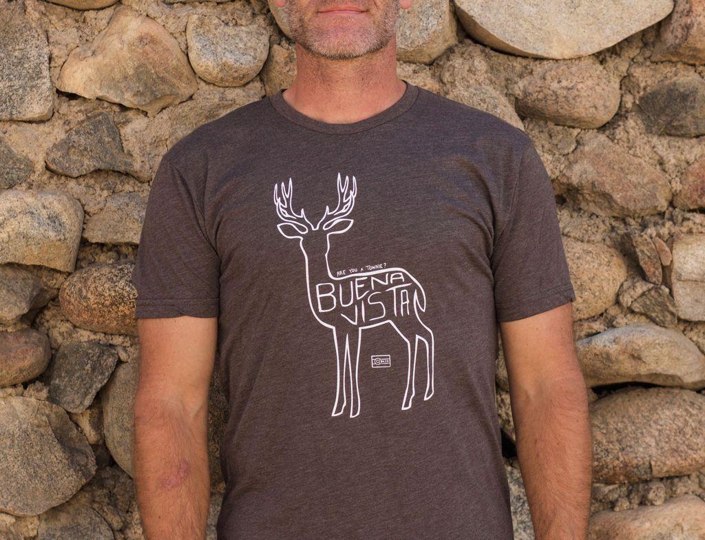 Souled Out Men's Trailhead Tee: Town Deer