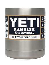 YETI COOLERS YETI Rambler Lowball 10 OZ - Stainless