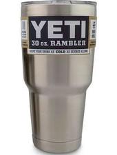 YETI COOLERS YETI Rambler Tumbler 30 OZ - Stainless