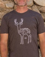Souled Out Men's Trailhead Tri-Blend Crew Town Deer Tee