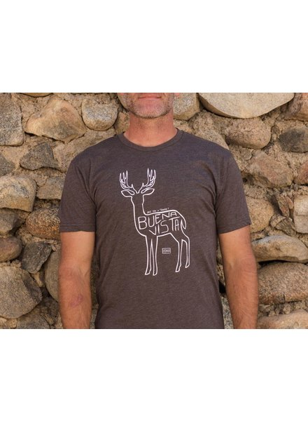 Souled Out Men's Trailhead Tri-Blend Crew Town Deer Tee