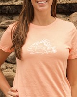 Souled Out Women's Trailhead Tri-Blend Crew Porcupine Tee