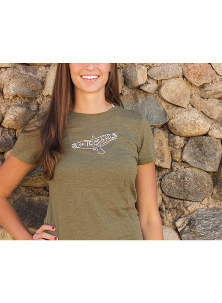Souled Out Women's Trailhead Tri-Blend Crew Eagle Tee
