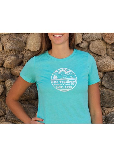 Souled Out Women's Trailhead Tri-Blend Crew Retro Logo Tee
