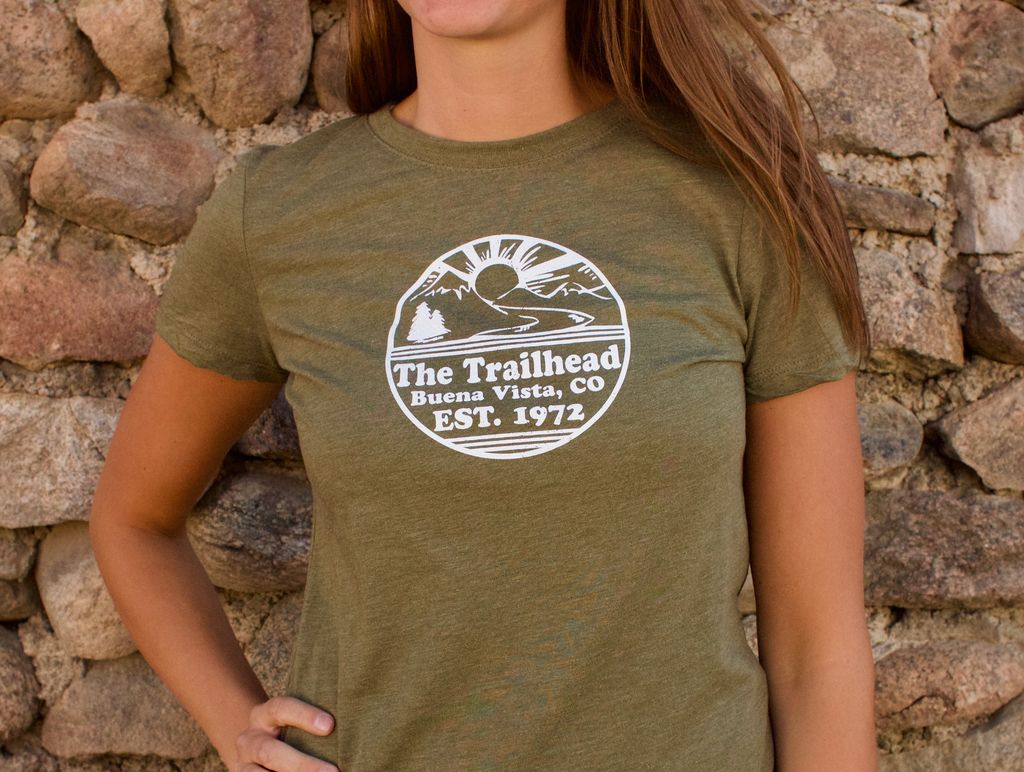 Souled Out Women's Trailhead Tee: Retro Logo