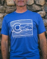 Souled Out Trailhead Tri-Blend Crew Line Art Colorado Tee