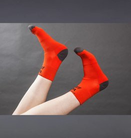 DirtFish Ankle Socks Orange