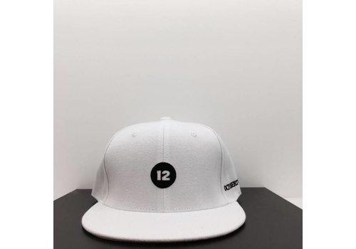 12 12 HAT (WHITE)