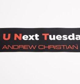 Andrew Christian C U Next Tuesday Sticker