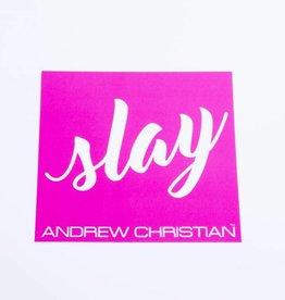 Andrew Christian Slay sticker