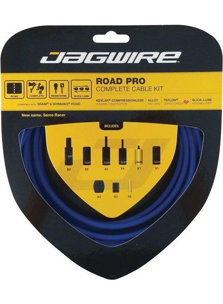 Road Pro Complete Road Brake & Derailleur Kit SID Blue