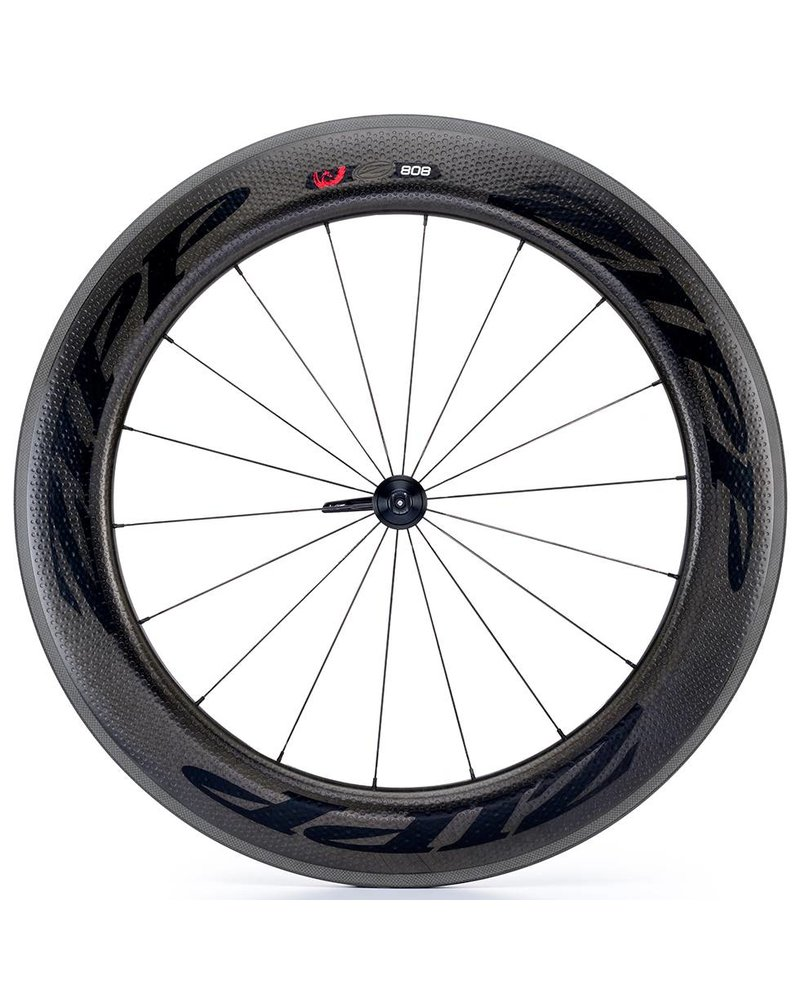 Zipp Speed Weaponry 808 Firecrest CC Front, Black Decal