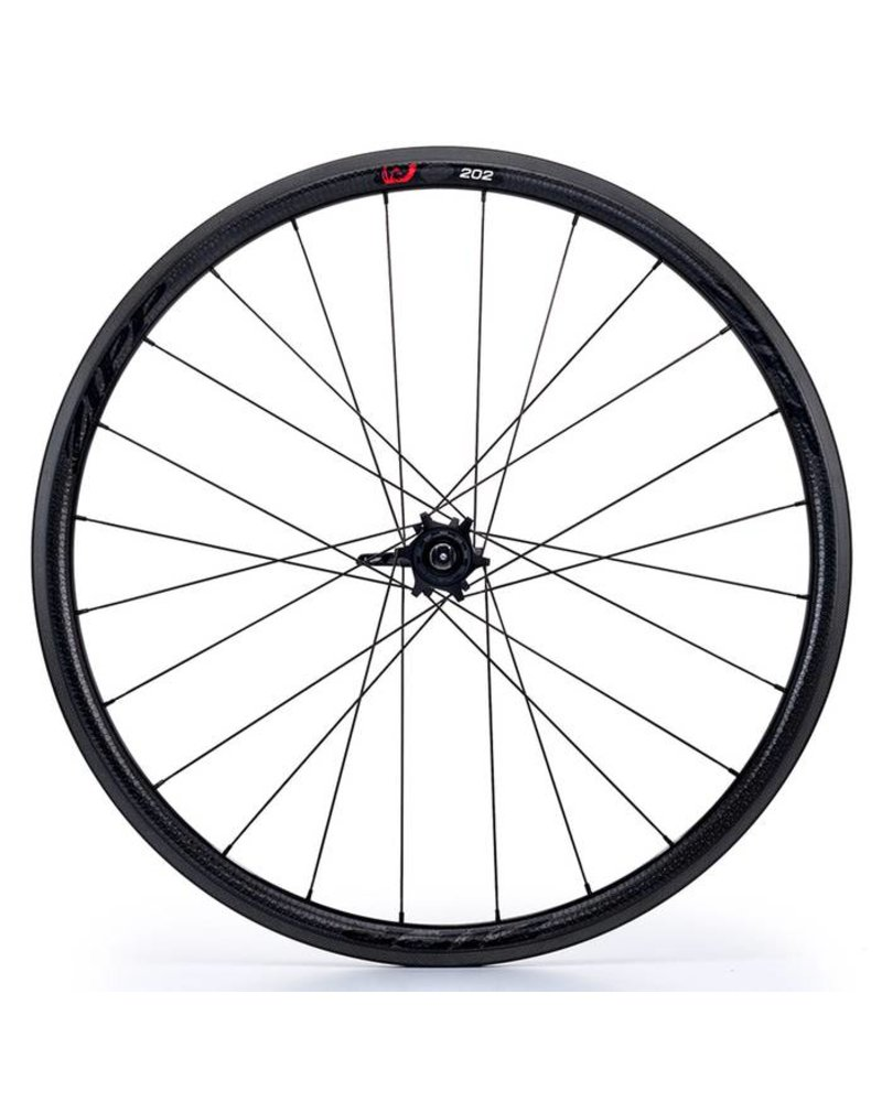 Zipp Speed Weaponry 202 Firecrest CC Front; Black Decal