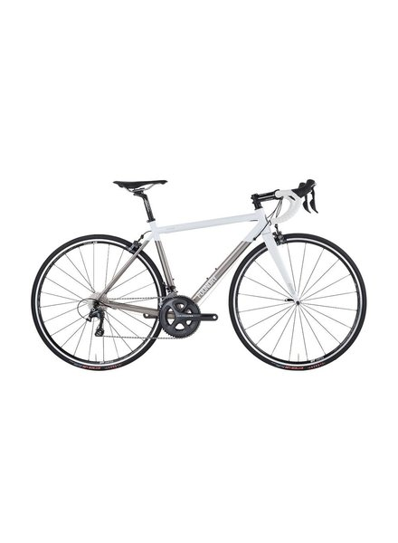 Foundry Chilkoot Bike Ultegra Brushed White Size: SM