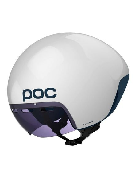 POC Cerebel Raceday Helmet Hydrogen White MD