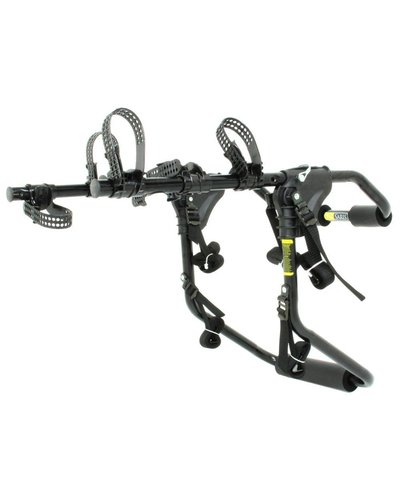 Saris 1052 Sentinel Trunk Rack: 3-Bike Black