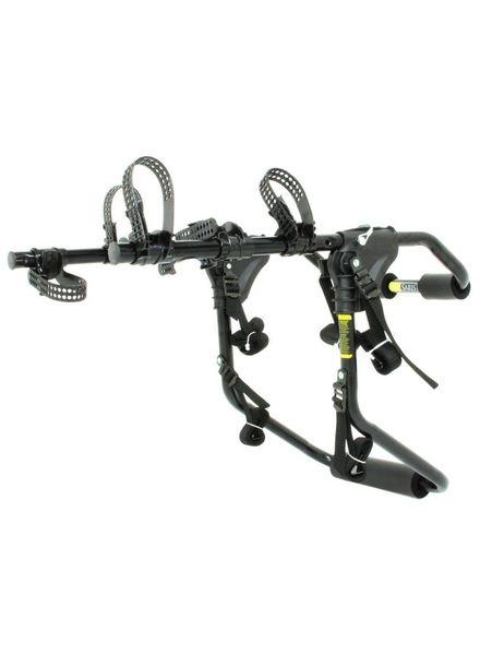 Saris 1052 Sentinel Trunk Rack: 3-Bike Black