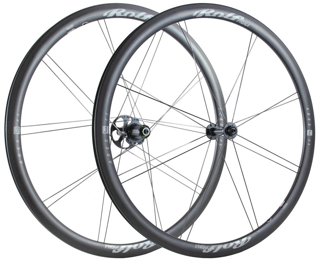 Rolf Wheels Ares3 ES Wheelset Shimano 10/11 Spd