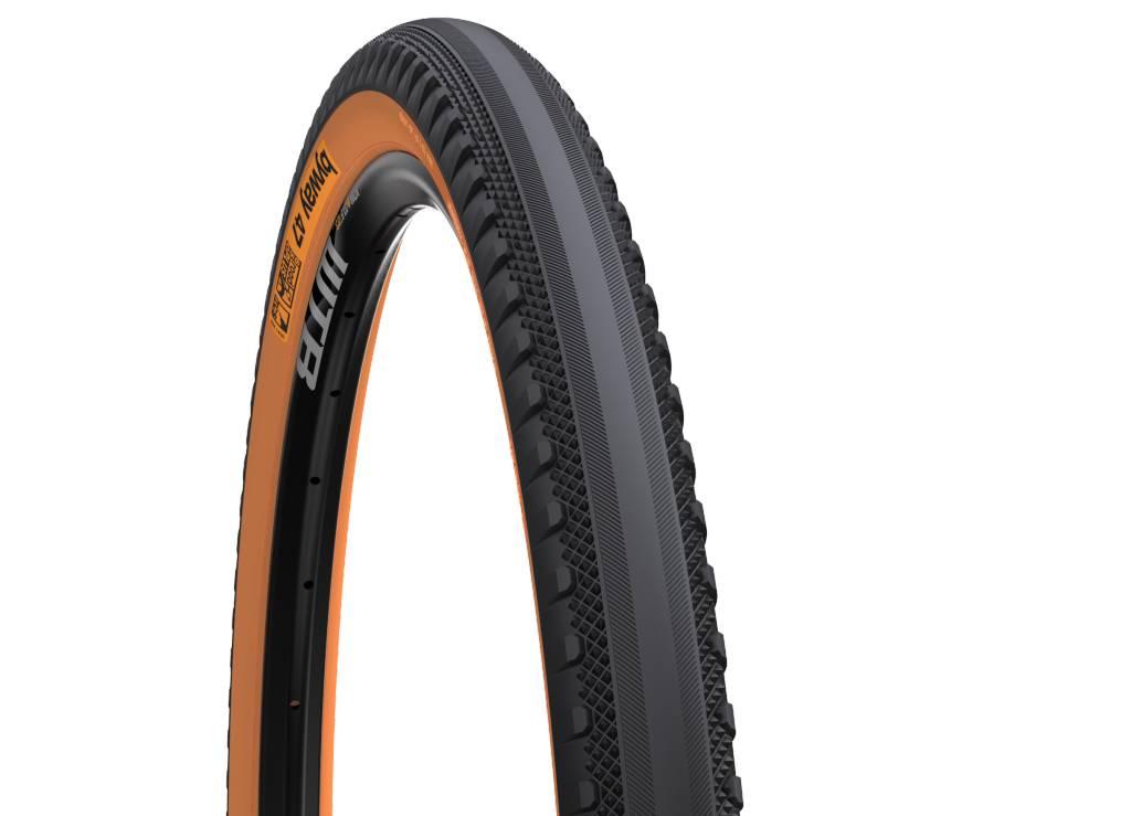 WTB WTB Byway 650b x 47mm Road TCS Tire, Folding Bead, Black