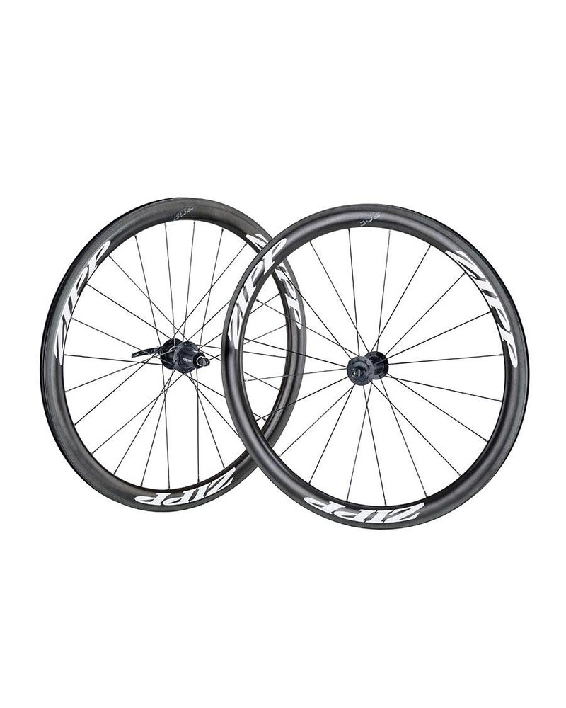Zipp Speed Weaponry 302 CC Front; White Decal