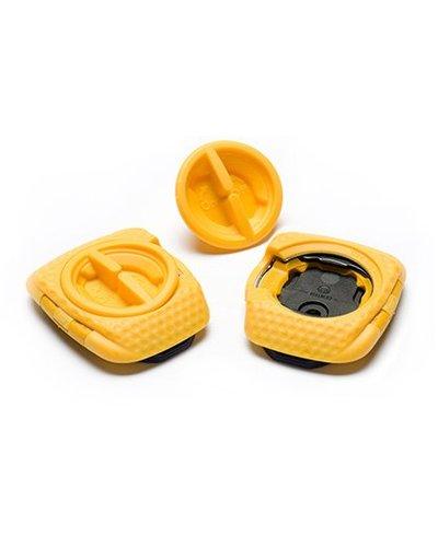 Speedplay, Inc. ZERO STAINLESS w/ Walkable Cleats, Black