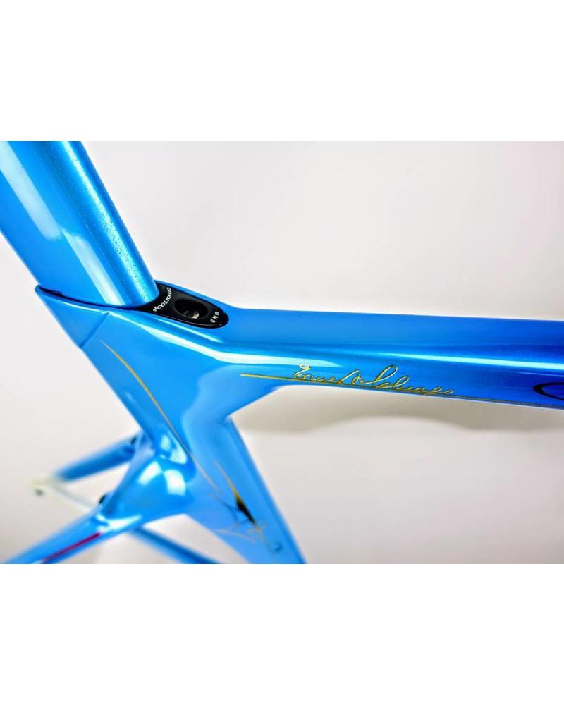 Colnago Concept Art Decor Frameset - Blue CHDB 52s