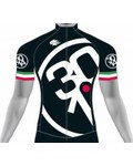 Winter Park Cycles 3014 Black TriColore Jersey