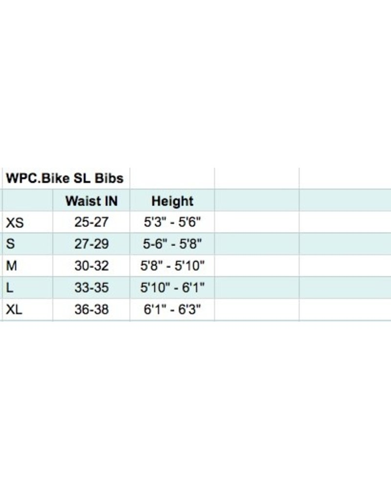 WPC.BIKE Celeste SL Bibs