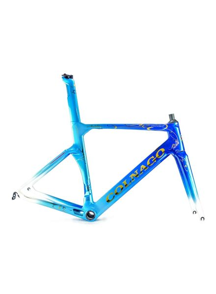 Colnago Concept Art Decor Frameset - Blue CHDB 52s