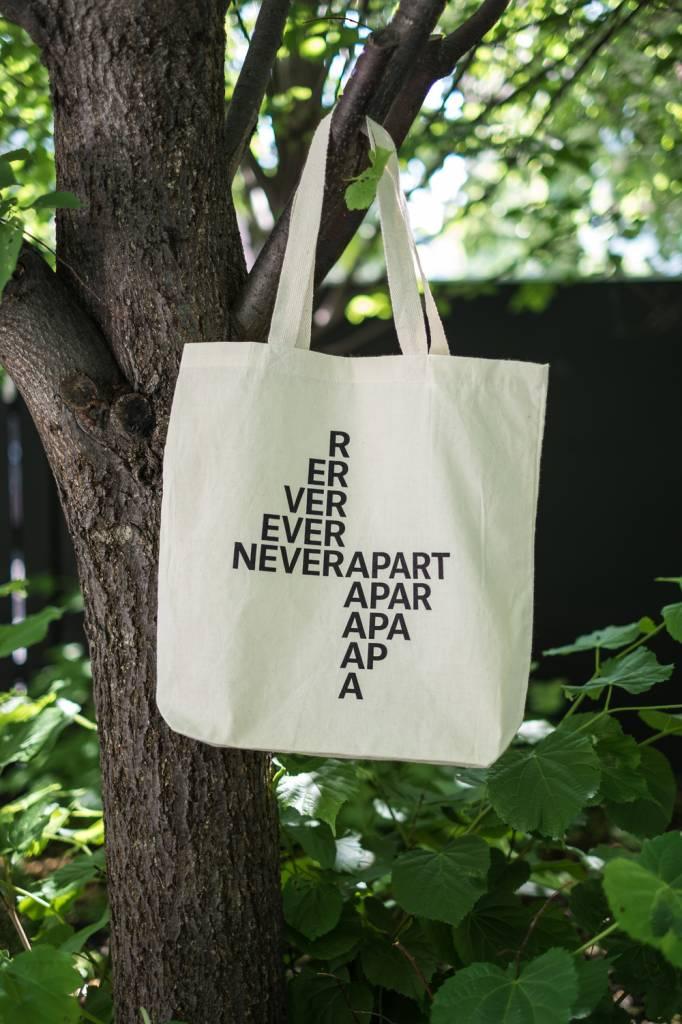 Never Apart Tote Bag