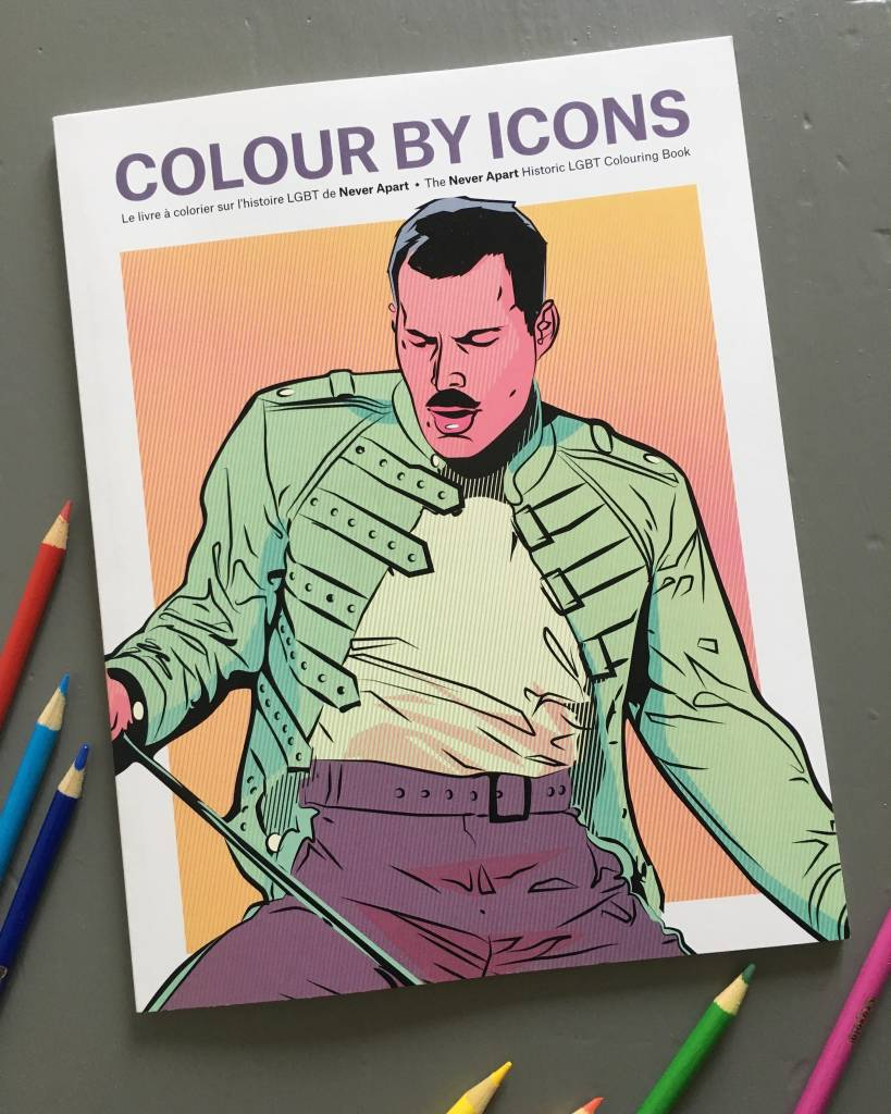 Colour By Icons 2.0 Colouring Book