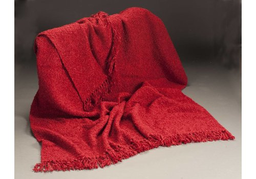 Red Cottage Throw