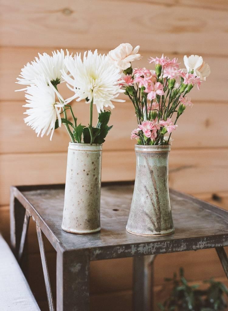 Slender Flower Vase Ceramic Products Berea College Crafts