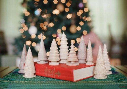 Turned Small Christmas Tree