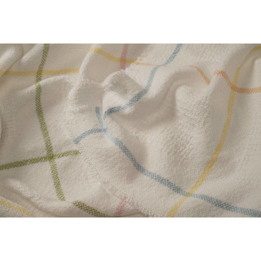 Block Pattern Baby Blankets Confetti (2 lbs)