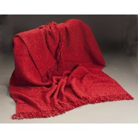 Cottage Throw Red (3 lbs)
