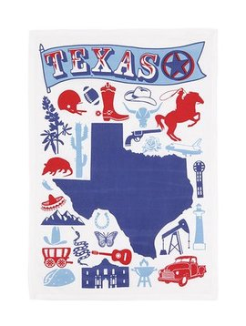 Kitchen Tea Towel - Texas