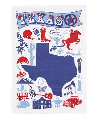 Kitchen Tea Towel - Texas
