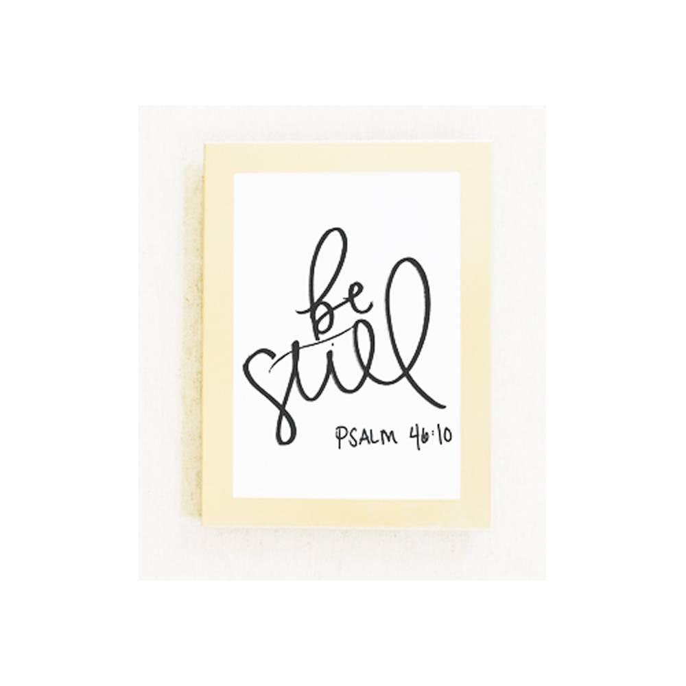 5x7 Card / Print : Be Still