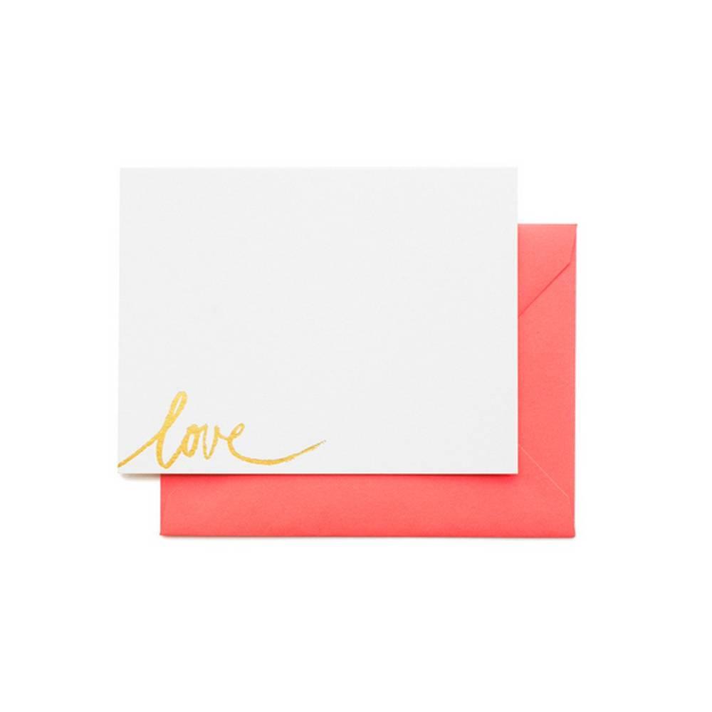 Bright Love Note set