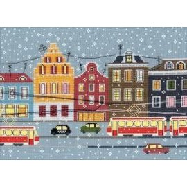 RIOLIS RIOLIS CROSS STITCH KIT - 1489 TRAM ROUTE