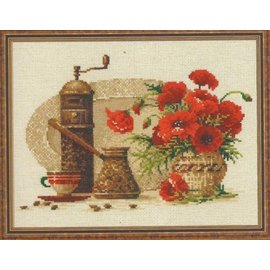 RIOLIS RIOLIS CROSS STITCH KIT - 1121 COFFEE KIT
