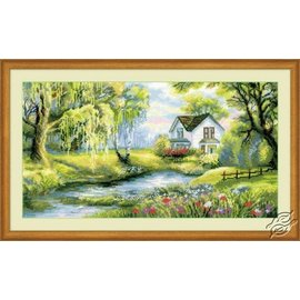 RIOLIS RIOLIS CROSS STITCH KIT - 1357 Corner of Paradise